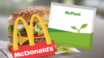 Plant-based McDonald